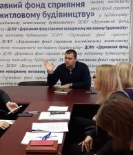 Учасники житлових програм отримали консультацію голови правління Фонду