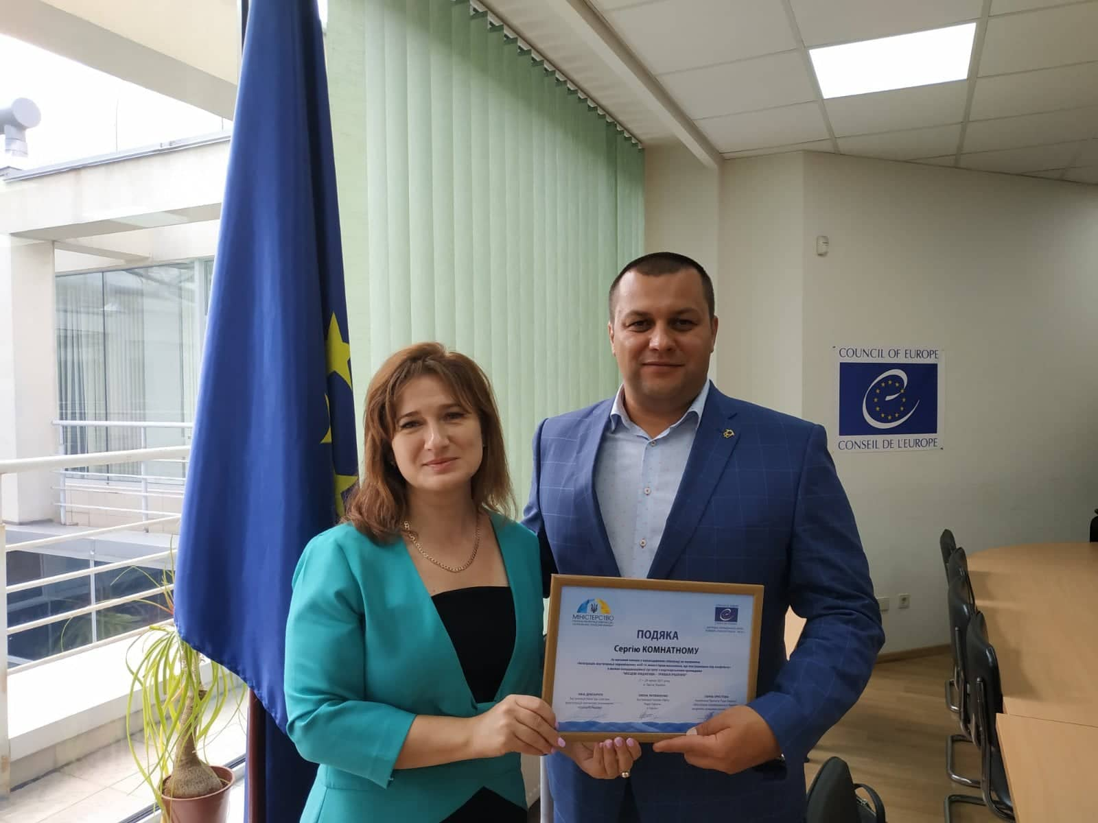 HELPING IDPs TOGETHER WITH THE PROJECT OF THE COUNCIL OF EUROPE