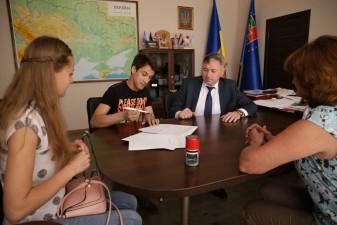 Луганщина: перший кредит за програмою молодіжного кредитування