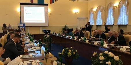 Участь у засіданні Конфедерації будівельників України
