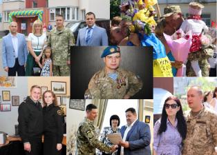 Щиро вітаємо з Днем захисника України!
